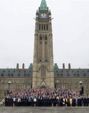 150 años del Parlamento canadiense