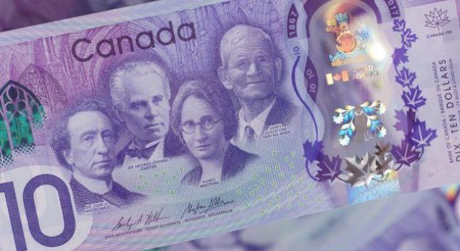 Banco de Canadá crea nuevo billete de $ 10 por los 150 años de Canadá