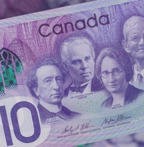 Un 10 $ canadien à quatre faces pour fêter le Canada