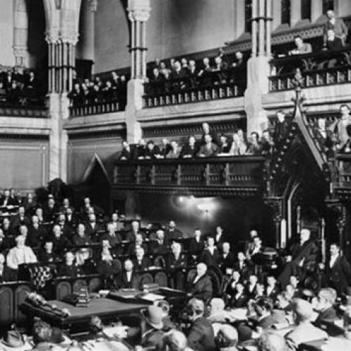 Presse parlementaire: 150 ans d'histoire