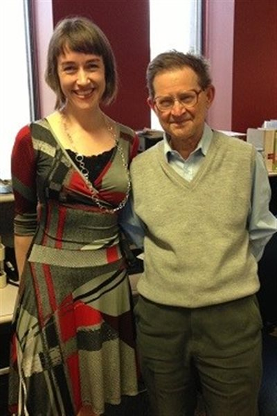 Peter Ashcroft  chats with RCI's Eilis Quinn in 2013.