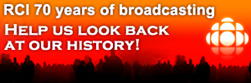 RCI 70 years of broadcasting • Help us look back at our history