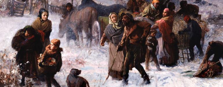 Leslie Oliver – Descendant of refugees fleeing slavery in the United States in 1814