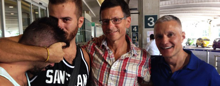 Living Without Fear – Gay Syrian refugee couple among first arrivals