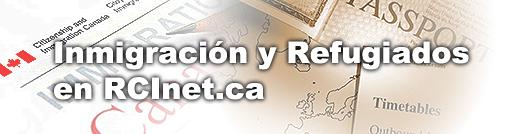 Inmigración y refugiados en RCINET.ca