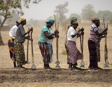 Des femmes au Burkina Faso. Photo AFP - RaphaelDeBengy