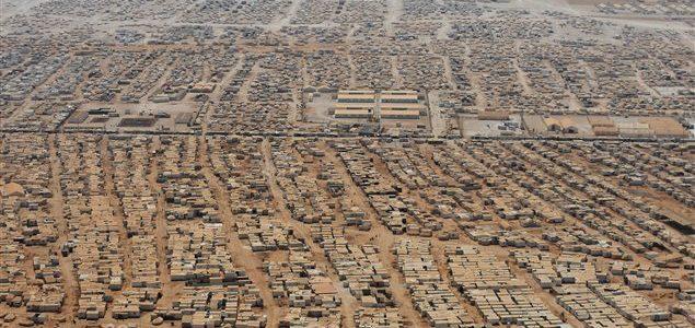 Camp de réfugiés syriens en Jordanie Camp de réfugiés syriens en Jordanie © AFP/MANDEL NGAN