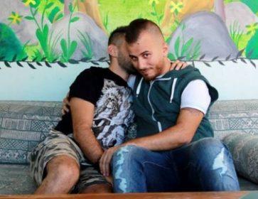 Réfugiés syriens Danny Ramadan, à droite, et son partenaire Aamer. (Danny Ramadan / Facebook)