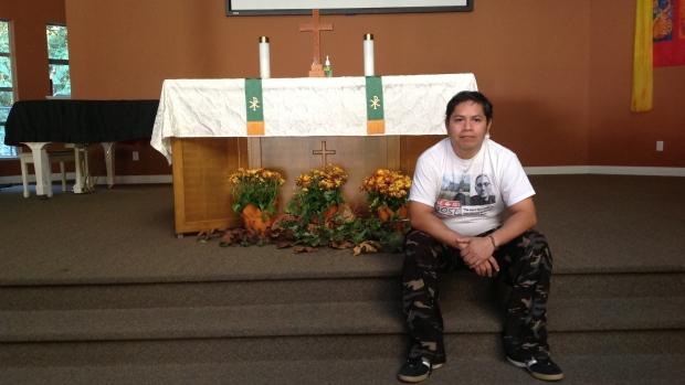 Se réfugier à l'église