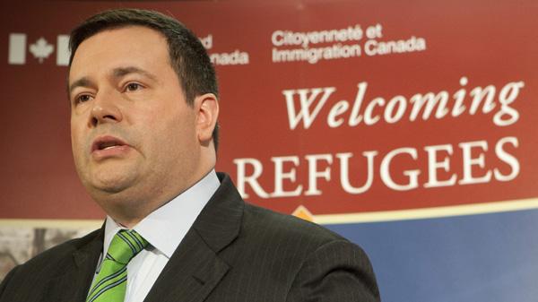 Jason Kenny est aujourd'hui ministre canadien des Affaires étrangères. Il est à l'orgine de la nouvelle loi canadienne sur les réfugiés. Photo : Radio-Canada
