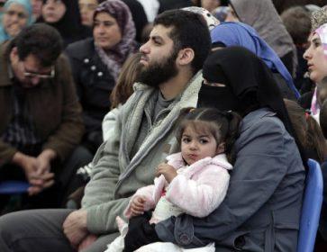 Des réfugiés syriens. (Photo: Bilal Hussein/AP)