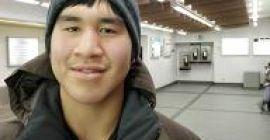 Otto Apsaktaun fils, de Kugaaruk, au Nunavut. Photo : Eilís Quinn.
