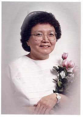 Minnie Akparook. École d'infirmières, en 1995. Photo : avec la permission de Minnie Akparook.