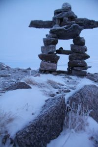 Inukshuk in Nunavut