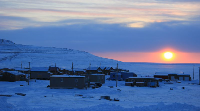Ulukhaktok, Northwest Territories.