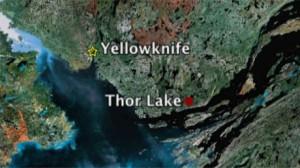 Le site minier de Thor Lake dans les TNO. (CBC)