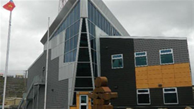 Le quartier général de la Gendarmerie royale du Canada à Iqaluit au Nunavut. (CBC)
