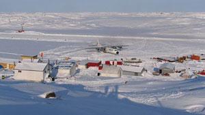 Secteur du lac Izok dans la région de Kitikmeot au Nunavut (MMG)