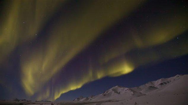 Aurores boréales au Yukon. (Rolf Hicker)
