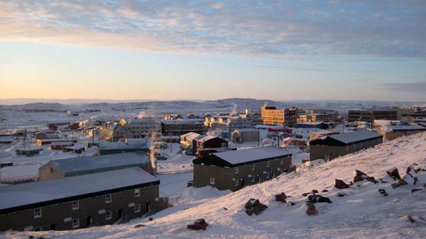 Iqaluit, au Nunavut. (La Presse Canadienne)