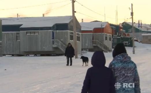 Akulivik, au Nunavik. (Eye on the Arctic / Radio Canada International)