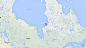 Kuujjuarapik au Nunavik. (Google -CBC.ca)