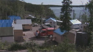 The site of the proposed NICO mine by Fortune Minerals, near Whati, N.W.T. (CBC)