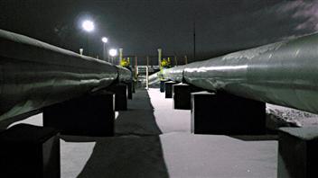Des pipelines de gaz naturel.  (CBC)