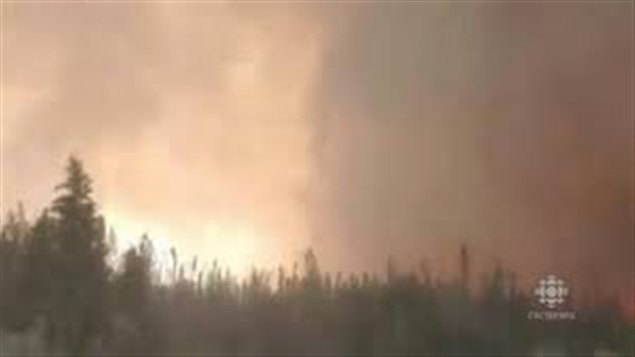 80 feux de forêt en activité au Yukon (CBC)