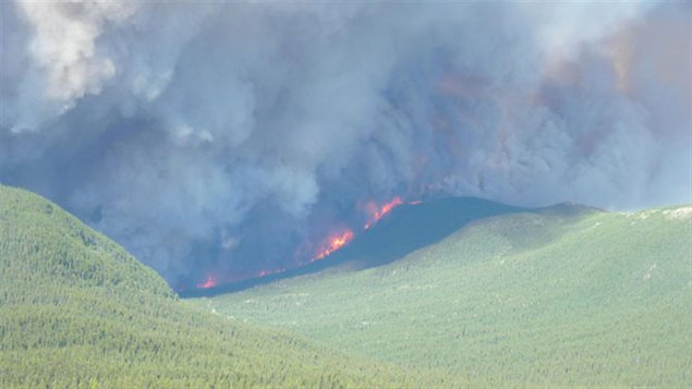 Feux de forêt dans le district de Watson Lake au Yukon (Yukon Wildland Fire Management)