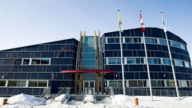 Parlement territorial du Nunavut à Iqaluit (Nathan Denette / PC)