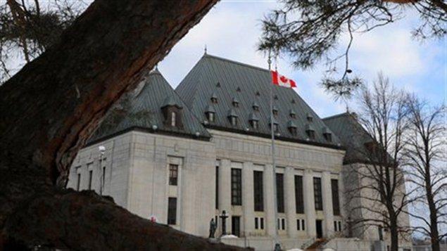 Cour suprême du Canada à Ottawa  (Sean Kilpatrick / La Presse Canadienne)