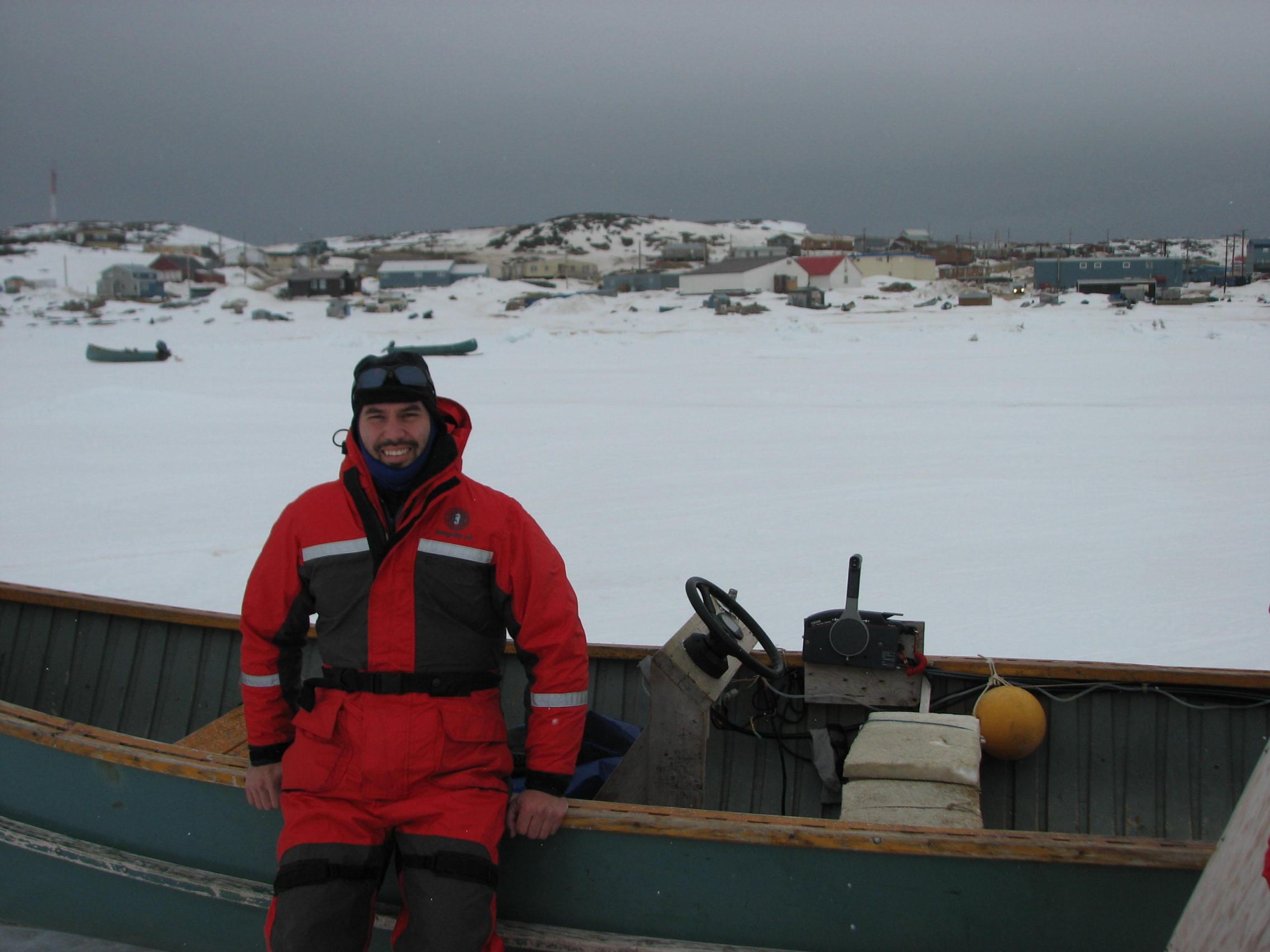 Jonathan Verreault, titulaire de la Chaire de recherche du Canada en toxicologie comparée des espèces aviaires et professeur au Département de sciences biologiques à l'UQAM (Jonathan Verreault)