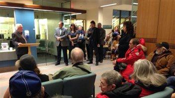 L'ouverture officielle de l'hôpital à Dawson City  (Claudiane Samson)