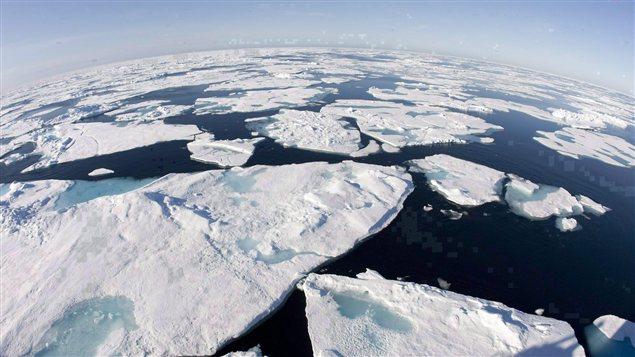 L'océan Arctique. (Jonathan Hayward / La Presse Canadienne)