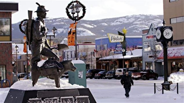 Whitehorse au Yukon (archives)