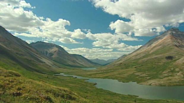 La région de Peel au Yukon. (CBC.ca)