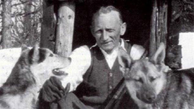 Herman Smith Johansen surnommée «Jackrabbit» est considéré comme le père du ski de fond au Québec. (Archives Radio-Canada)