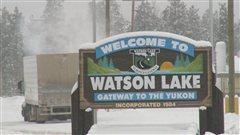 Le territoire de la Première Nation Liard est situé dans les environs de Watson Lake au Yukon et s'étant au sud de la frontière britanno-colombienne.  (Radio-Canada)