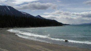 Le site d'Atlin Lake au Yukon (Gouvernement du Yukon)