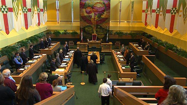 L'Assemblée législative du Yukon. (Archives - Radio-Canada)