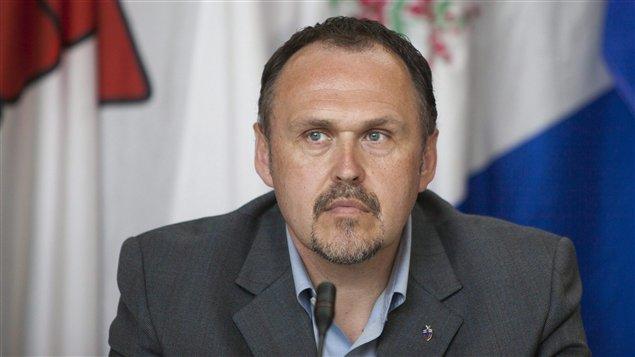 Le chef du Parti du Yukon et premier ministre élu, Darrell Pasloski. (James MacKenzie / La Presse Canadienne)