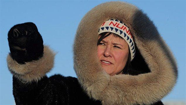 Leona Aglukkaq, ministre canadienne de l'environnement et présidente du Conseil de l'Arctique. (Sean Kilpatrick / La Presse Canadienne)