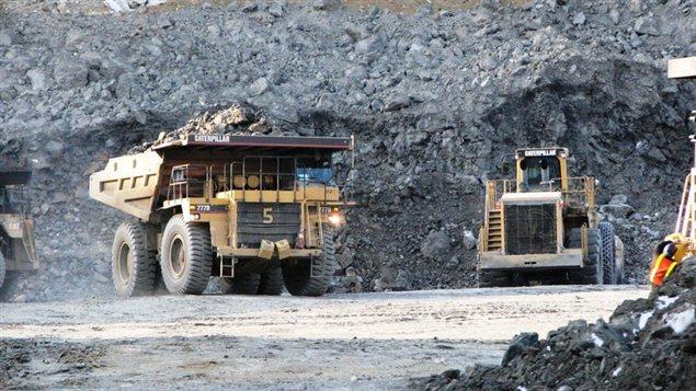 Opérations minières à la mine Minto au Yukon. (capstonemining.com/Radio-Canada.ca)
