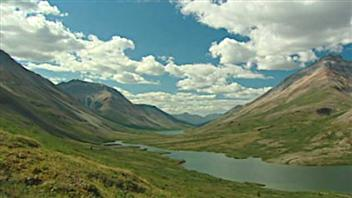 Le bassin hydrologique de la rivière Peel au Yukon. (Radio-Canada)