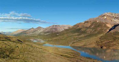 Le lac Goz dans le bassin hydrographique de la Peel, Yukon. ( PWPC / Radio-Canada.ca)