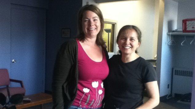 Michelle Wolsky et Stephanie Buchanan ouvriront une clinique de santé sexuelle à Whitehorse.  (CBC)