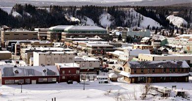Whitehorse, capitale du Yukon. (La Presse Canadienne)