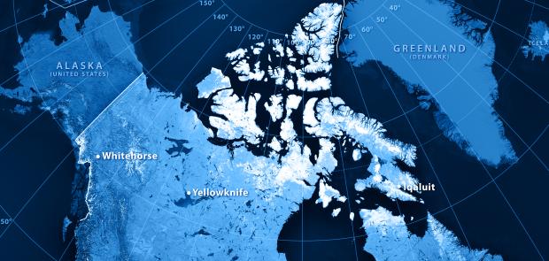 Le passage du Nord-Ouest passe entre les îles arctiques du Grand Nord canadien. (iStock)