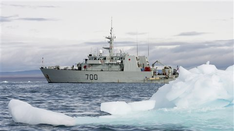 L'exercice en 2014 avait pour but de voir ce qui se passerait si le gouvernement du Nunavut appelait à l'aide pour assurer la sécurité des passagers et de l'équipage d'un navire de croisière. (Adrian Wyld/La Presse Canadienne)